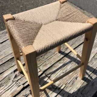 座編みスツール作り体験のサムネイル